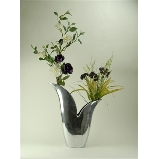 Modern Day Accents 8200 Alum Flared Vase
