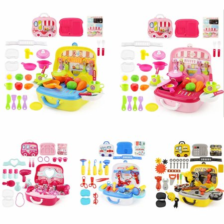 26PCS Kids Play House Toy Set , Mini Kids Toddler Pretend Play Kitchen Cook Toy ()
