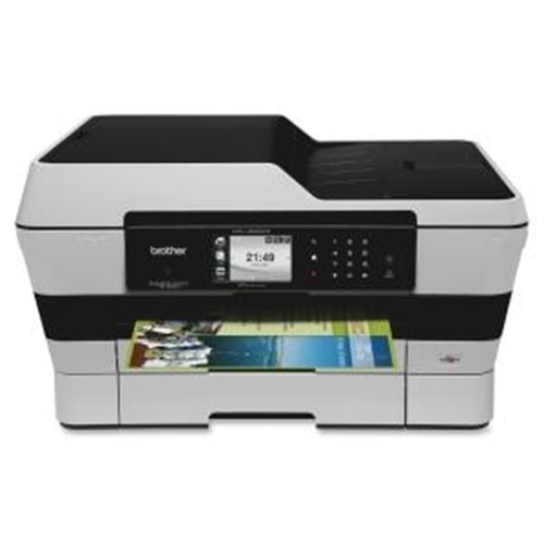 Brother Business Smart Inkjet Multifunction Printer - Color - Plain Paper Print - Desktop MFC-J6920DW