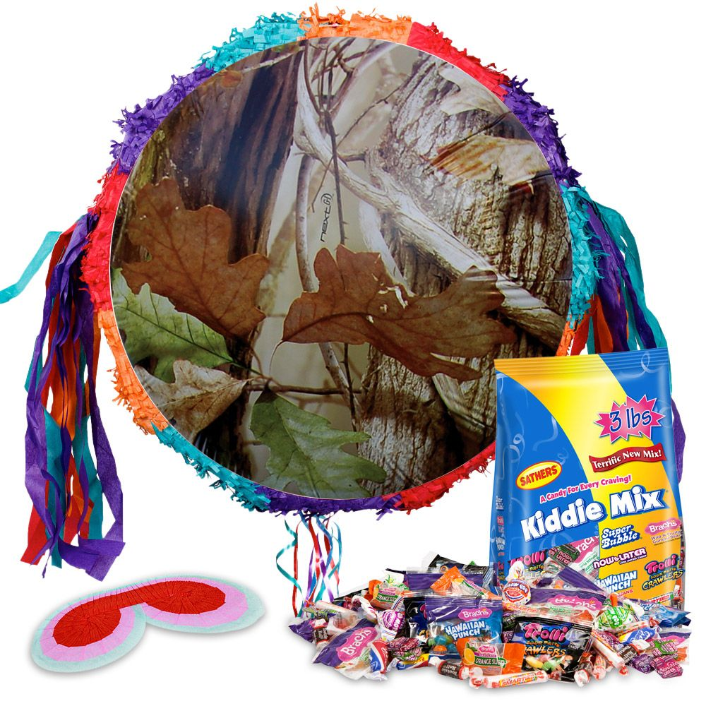 Next Camo Pinata Kit (Each) - Party Supplies