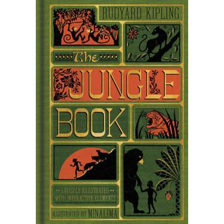 The Jungle Book (Illustrated with Interactive Elements) (Hardcover) (The Jungle Book Costumes)