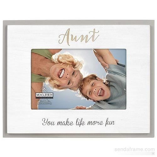 AUNT You Make Life More Fun keepsake frame