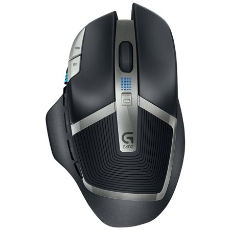 G602 Lag-Free Wireless Gaming Mouse – 11 Programmable Buttons, Up to 2500