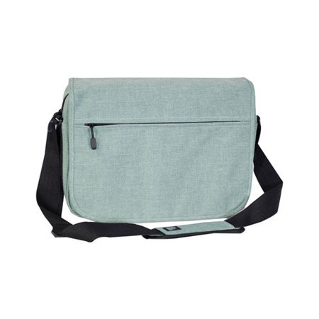 Deluxe Expandable Business Laptop Case (Everest Deluxe Laptop Messenger 059LT Jade OSFA)