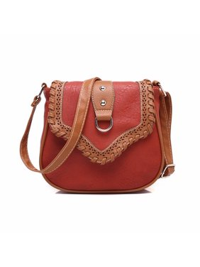 Product Image Fashion Lady Women Hollow Retro Shoulder Bag PU Leather  Satchel Cross Body Handbag Tote 3bbf935203222