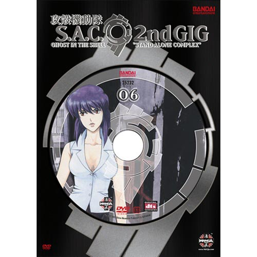 Ghost In The Shell: Stand Alone Complex - 2nd Gig, Vol. 6 (Widescreen)