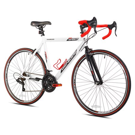 Genesis 700c Saber Men's Bike, White, For Height Sizes 5'4