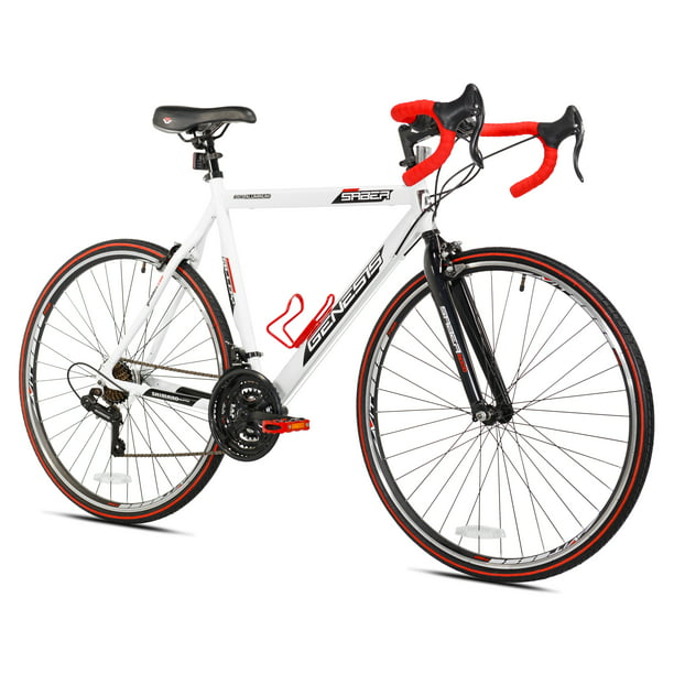 Genesis 700c Saber Men's Road Bike, Medium, White