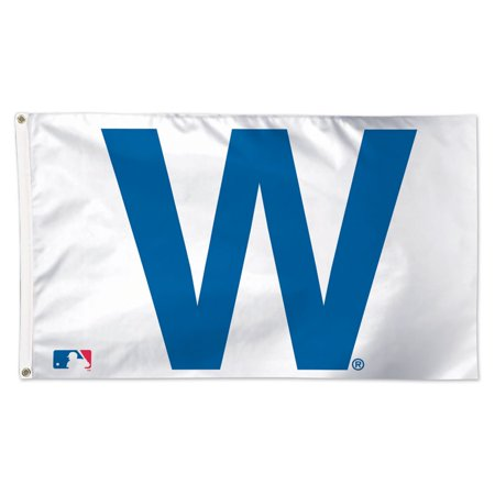 Chicago Cubs WinCraft Deluxe 3' x 5' W Flag - No Size (Cubs Flag)
