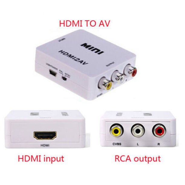 Rca Composite Video Audio Av Cvbs