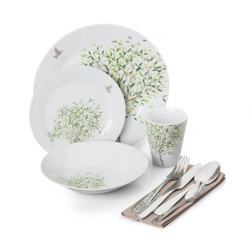 For The Chef 36 Piece Dinnerware Set Service For 4 Walmartcom