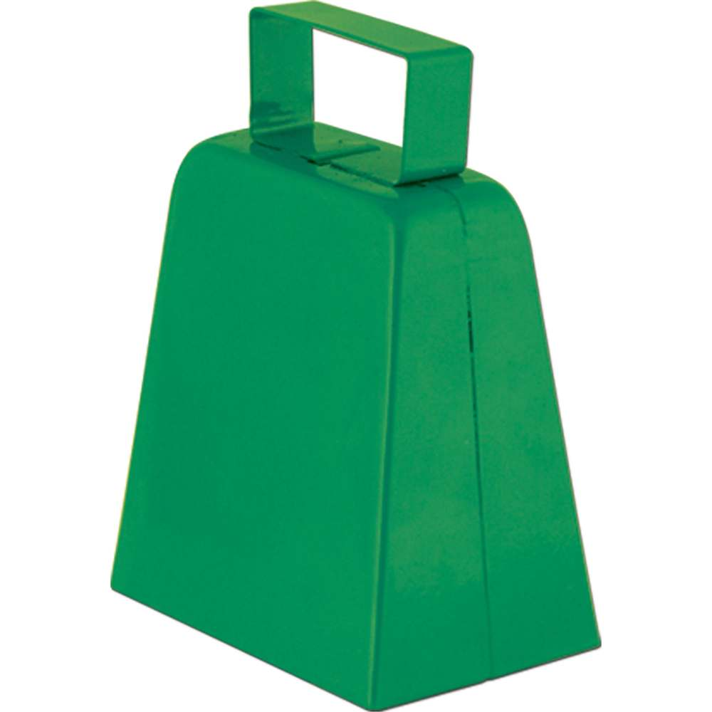Green Cowbell Noisemaker by Beistle Co
