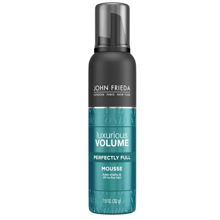 John Frieda Luxurious Volume Perfectly Full Mousse, 7.5 Ounce 3.5 Ounce Shower Mousse