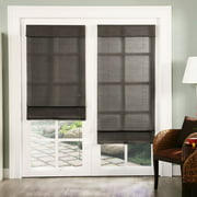 Chicology Privacy & Natural Woven Corded Roman Shades