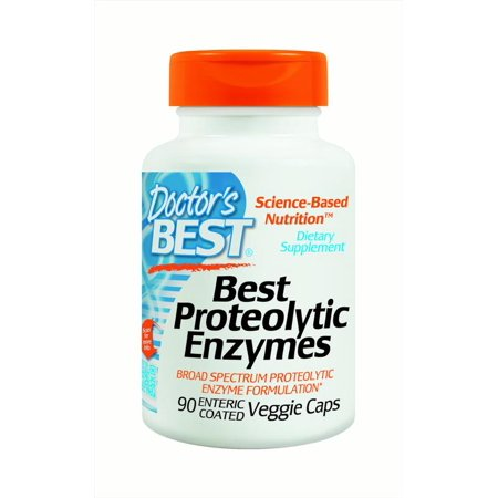 Doctor's Best enzymes protéolytiques, 90 Ct