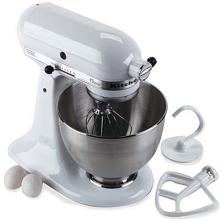 kitchenaid classic 4 5 qt stand mixer k45ss
