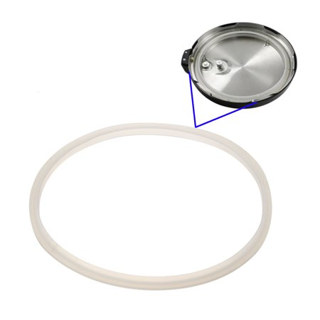 Replacement Silicone Rubber Clear Gasket Home Pressure Cooker Seal .