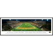 "Southern Miss Golden Eagles 13"" x 40"" M. M. Roberts Stadium Standard Frame Panorama"