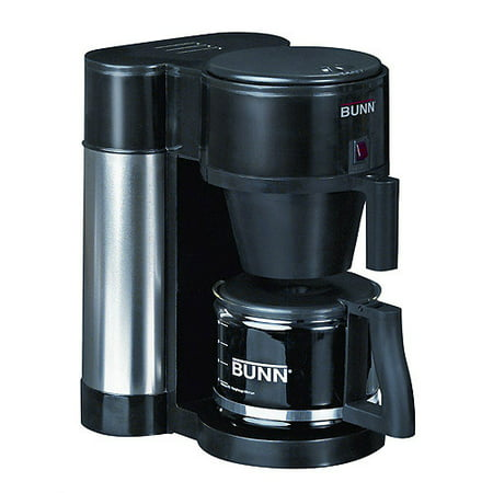 Bunn Generation 10 Cup Commercial Style Coffee Brewer  Black
