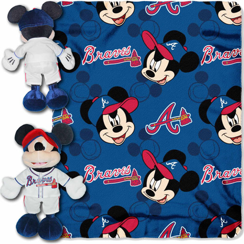 Disney MLB Hugger Pitch Crazy Series, Braves