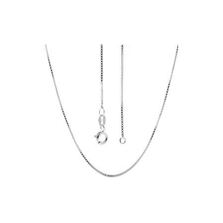 Italian Sterling Silver Box Chain 14