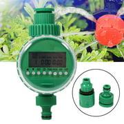 Greensen Auto Timer Watering, Self-Watering Drip Irrigation,1 Set 20m Auto Timer Plant Self Watering Drip Irrigation Micro System Garden Dripper Hose Kits