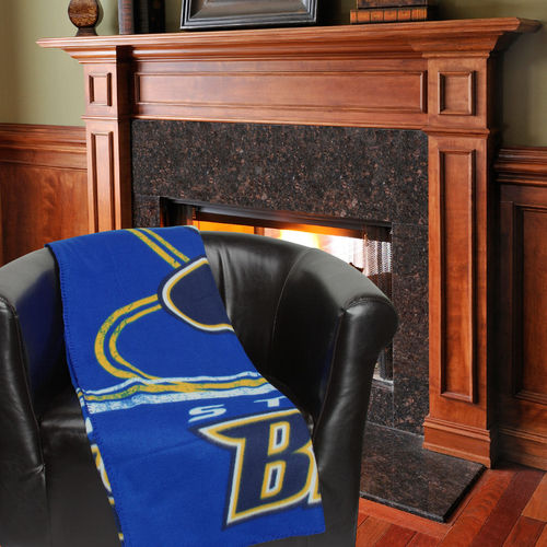 "NHL St. Louis Blues 50"" x 60"" Fleece Throw"