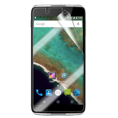 IDOL-4/NITRO 49 SCREEN PROTECTORS, 2 CLEAR LCD SCREEN PROTECTOR SCRATCH  GUARD SAVER FOR ALCATEL IDOL 4, OneTouch NITRO 49 (Cricket)