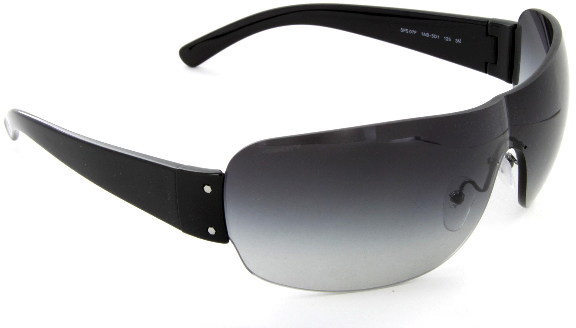 b647d436edf43 ... where can i buy prada linea rossa sps 07fs 1ab 5d1 shield sunglasses  black grey lens