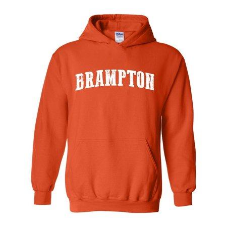 6a291b7c0d J H I - Brampton Map What to do in Ontario Canada Men s Hoodie Sweatshirt -  Walmart.com