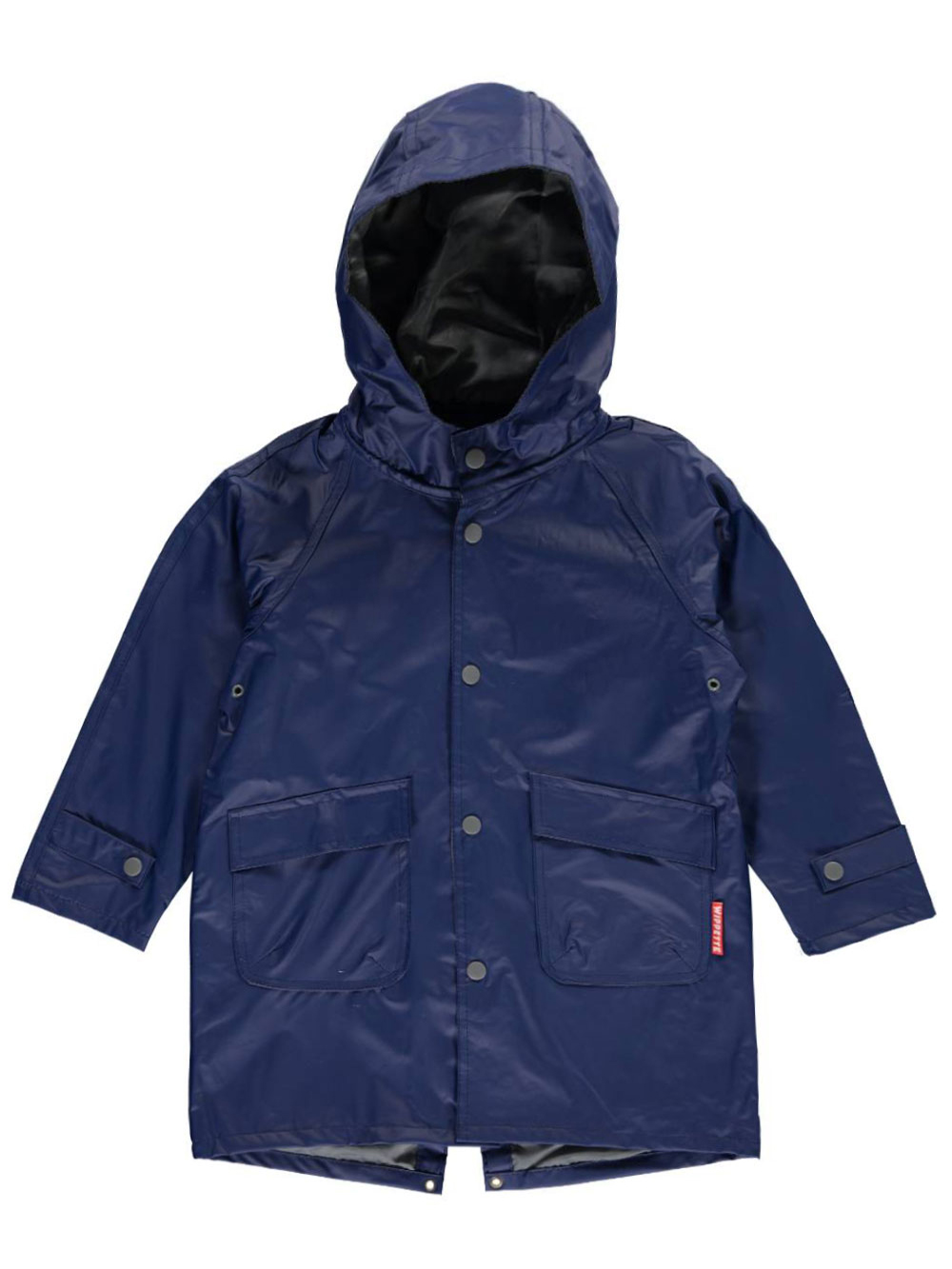 "Wippette Little Boys' Toddler ""Basic Contrast"" Rain Jacket (Sizes 2T - 4T)"