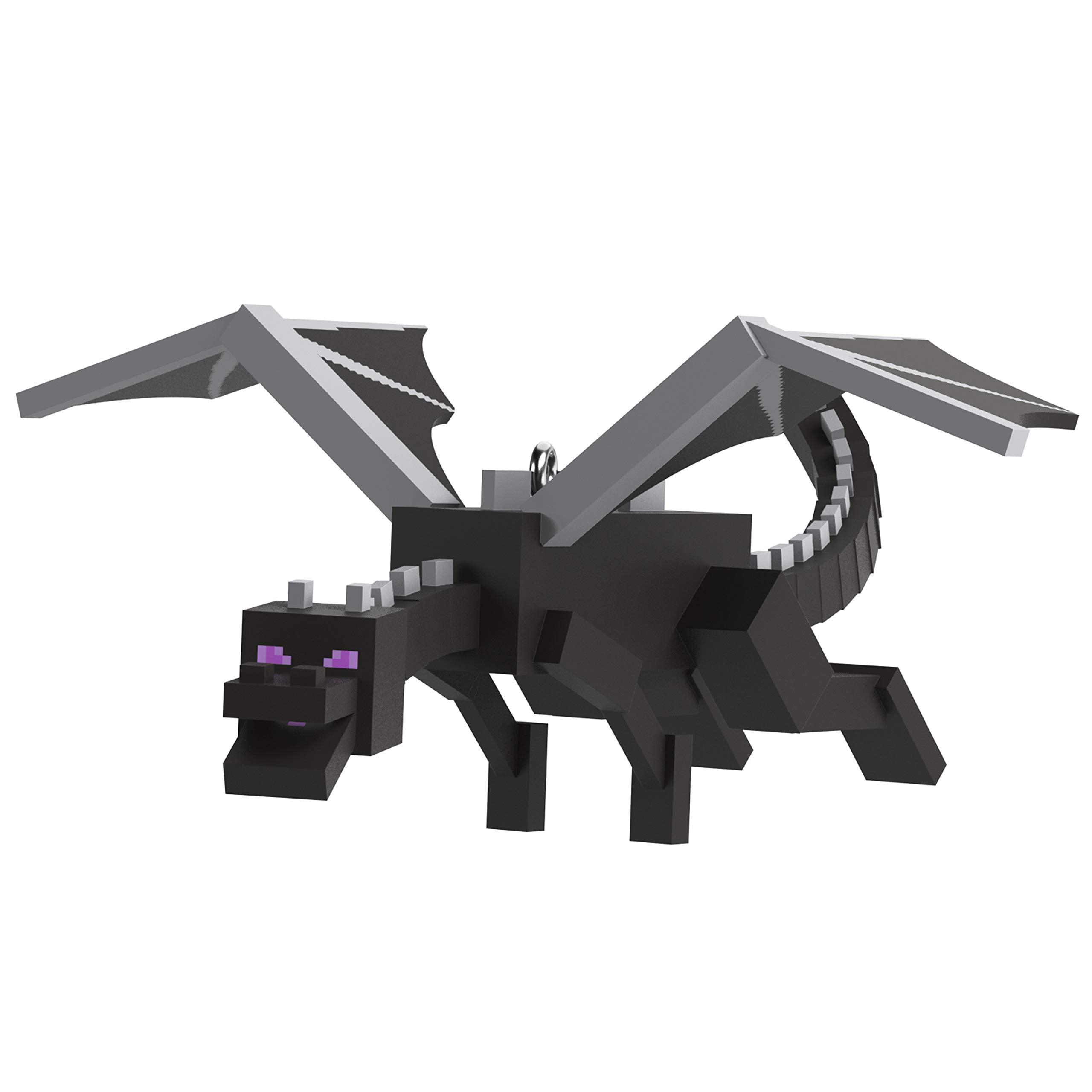 Hallmark Keepsake Christmas 2019 Year Dated Minecraft Ender Dragon Ornament Walmart Com Walmart Com