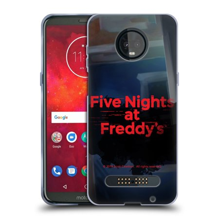 OFFICIAL FIVE NIGHTS AT FREDDY'S LOGOS SOFT GEL CASE FOR MOTOROLA PHONES