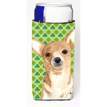 Chihuahua St Patricks Day Michelob Ultra bottle sleeves for slim cans 12 oz. - image 1 de 1