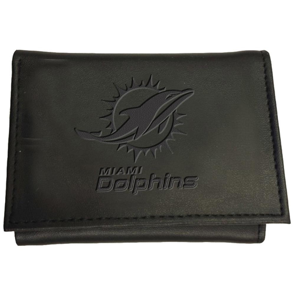 Miami Dolphins Hybrid Tri-Fold Wallet - Black - No Size