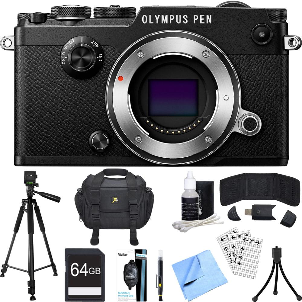 Olympus PEN-F 20MP Mirrorless Micro Four Thirds Digital C...