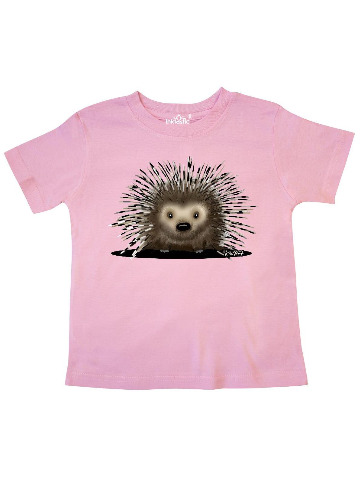 Porcupine Toddler T-Shirt - KiniArt