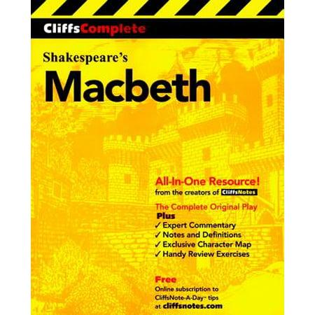 CliffsComplete Macbeth (Best Version Of Macbeth)