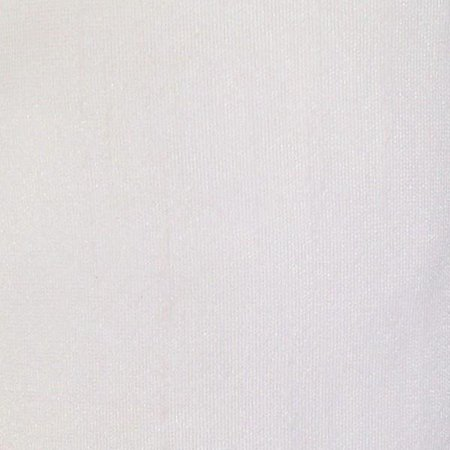 Faux Silk Poly Dupioni Shantung Fabric 100% Polyester for Apparel Home Decor Dupion By the Yard (White)