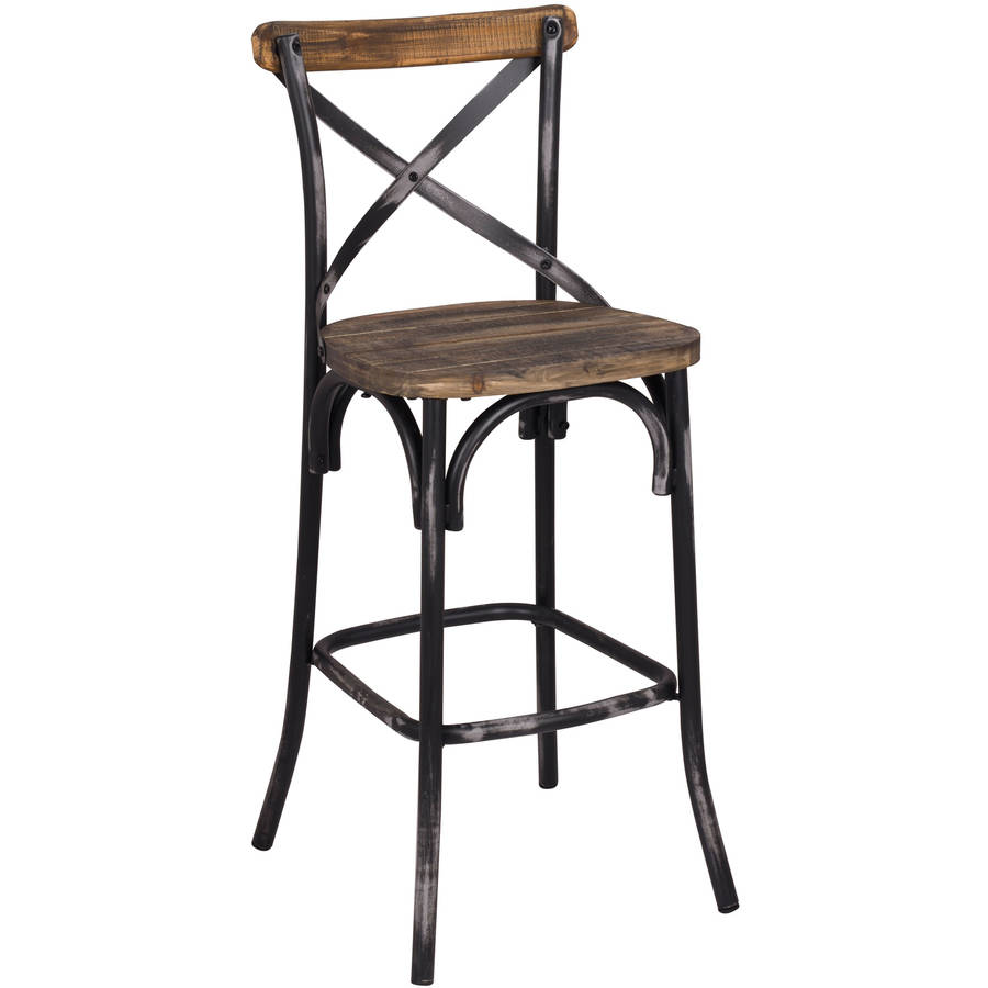 Acme Zaire Bar Chair Multiple Colors Walmart Com