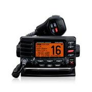 Standard Horizon GX1600 Explorer VHF Radio - Black Marine Transceiver with Large Dot Matrix
