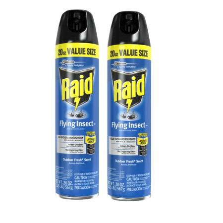 (2 pack) Raid Flying Insect Killer 7, 20 Ounces