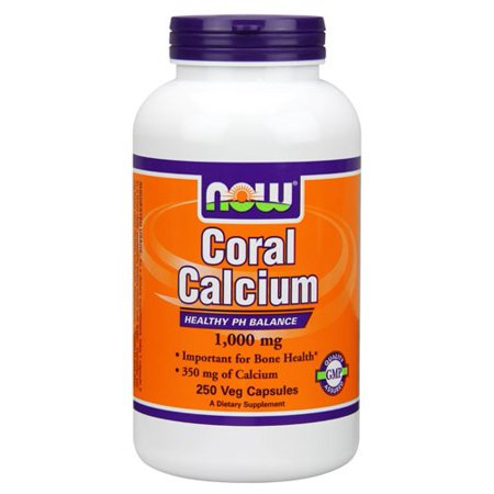 NOW Foods pH Coral calcium Support équilibre, 1000mg, 250 Ct
