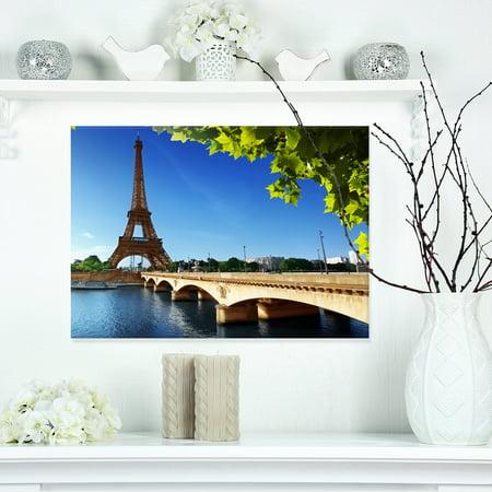 Bridge to Paris Paris Eiffel TowerParis - Cityscape Canvas Print - image 3 of 3