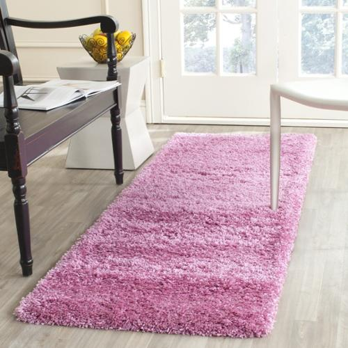Safavieh California Cozy Plush Pink Shag Rug (2u00273 ...