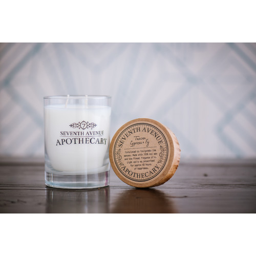 Seventh Avenue Apothecary Tuscan Cypress and Fig Candle