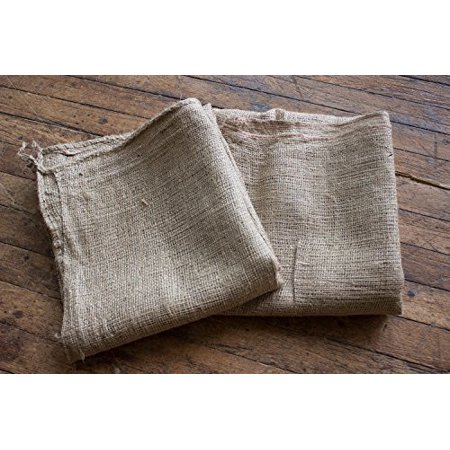 Burlapper Burlap Jute Potato Sack Race Bags, 24