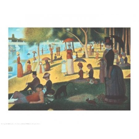 Sunday Afternoon on the Island of La Grande Jatte Poster Print by Georges Seurat (30 x 24)