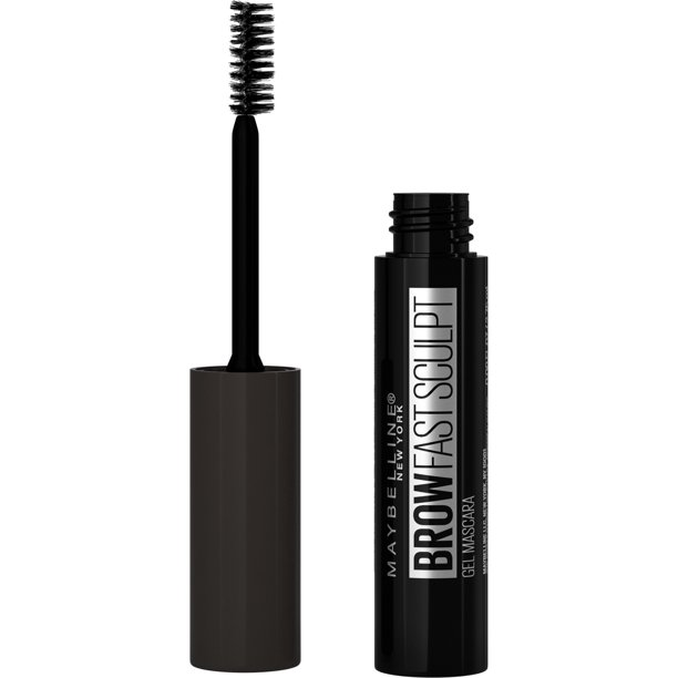 Maybelline Brow Fast Sculpt, Shapes Eyebrows, Eyebrow Mascara Makeup, Deep Brown, 0.09 fl. oz.