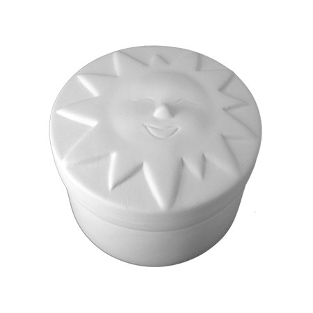 Ceramic bisque unpainted unfinished Ceramic unpainted no fire use acrylic paints only bi1256cb sun box 4